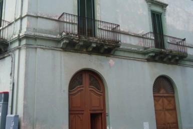 palazzo nel centro storico di Matino