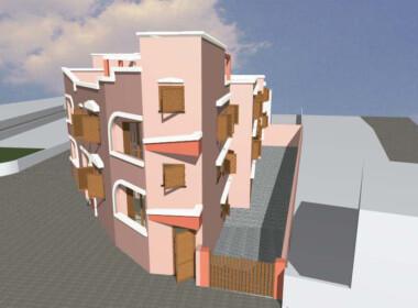 Sannicola - Terreno edificabile con progetto approvato per otto abitazioni