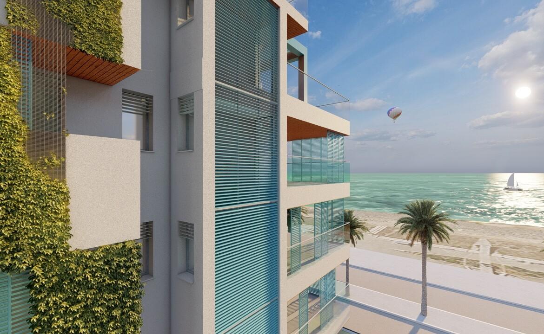 fronte mare nuova costruzione Gallipoli