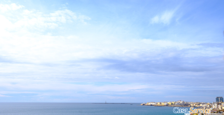 fronte mare nuova costruzione a Gallipoli