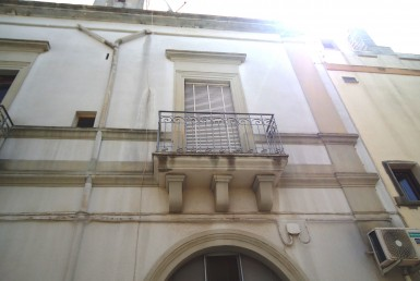 palazzo storico a Matino